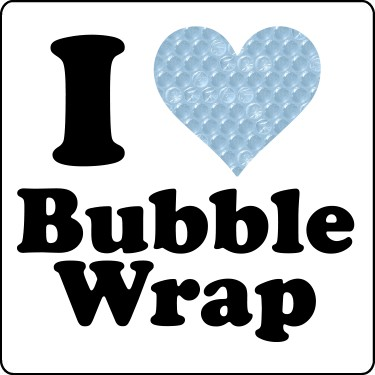 I Love Bubble Wrap Tee