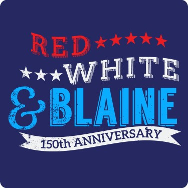 Red White And Blaine Tee