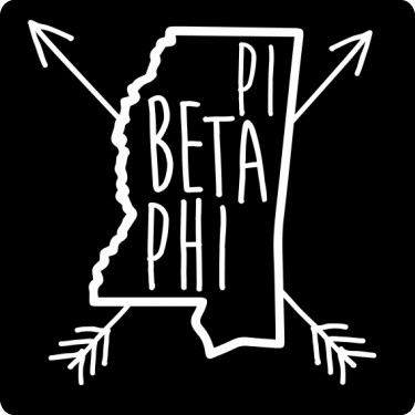 Pi Beta Phi Mississippi Tee T-Shirt