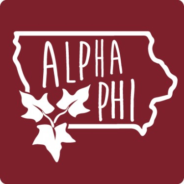 Alpha Phi Sorority Iowa T-Shirt