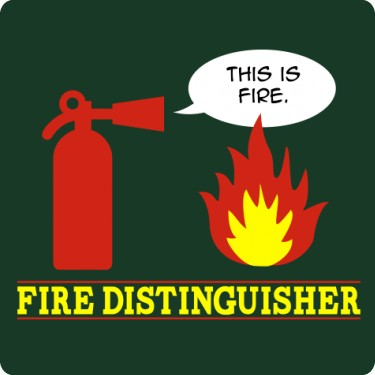 Fire Distinguisher Tee